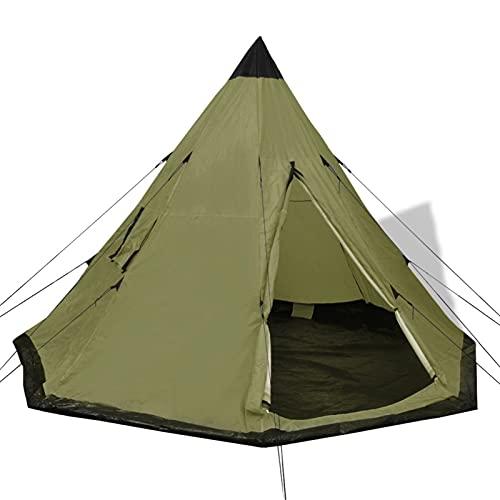 Festnight Tipi Zelt 4 Personen Wasserdicht Firstzelt Campingzelt...