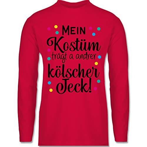 Karneval & Fasching - Mein Kostüm trägt a Anderer kölscher Jeck! - schwarz - M - Rot - Karneval - BCTU005 -...
