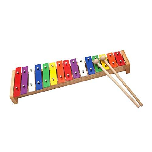 freneci 15 Hinweis Glockenspiel Xylophone Hand Percussion...