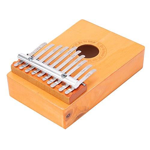 6,3 x 4,3 x 2 in Kalimba, traditionelles Afrika Kalimba, Musikinstrument Musikgeschenk Kinder Musikspielzeug...