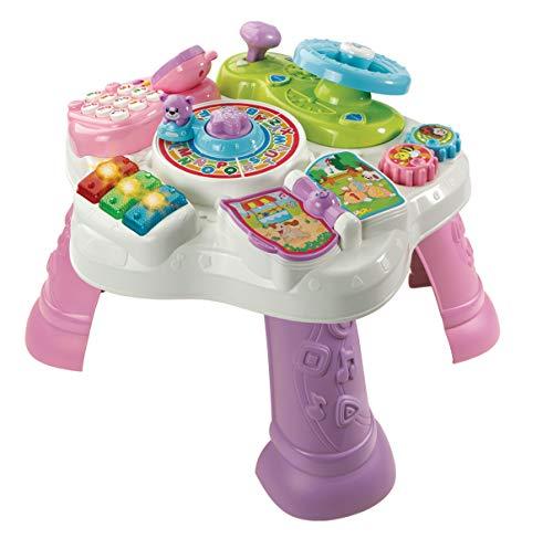 VTech 80-181584 - Abenteuer Spieltisch, Babyspieltisch,...