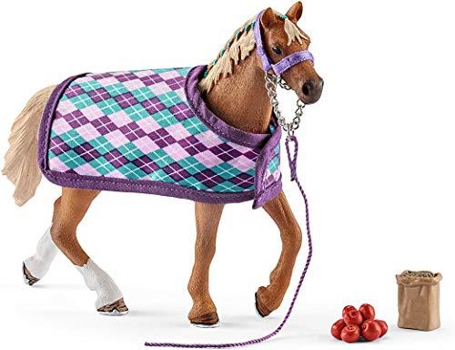 SCHLEICH 42360 Horse Club Spielset - Englisches...