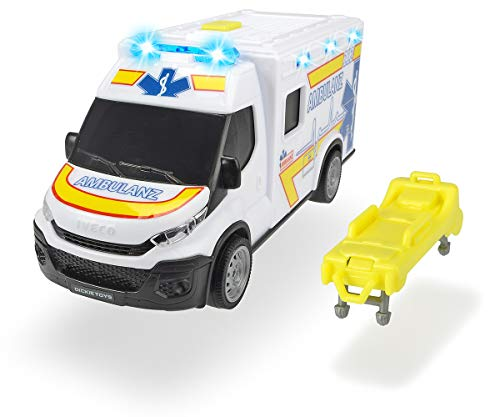 Dickie Toys 203713012 Iveco Daily Ambulance, Krankenwagen,...