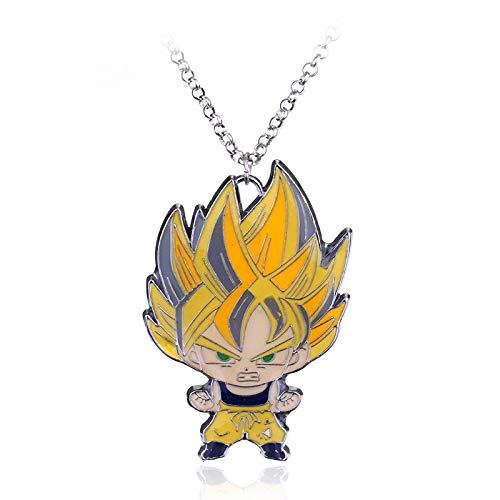 YUNMENG Anime Schmuck Dragon Ball Z Son Goku Figur Spielzeug Anhänger...