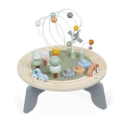 Janod - Sweet Cocoon Aktivitätstisch aus Holz - Multi-Spieltisch,...