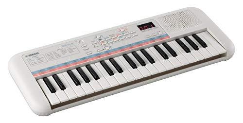 Yamaha Remie PSS-E30 Mini Keyboard, weiß – Kompaktes, tragbares...