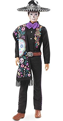 Barbie GXL26 - Signature Dia de Muertos Ken Puppe, ab 6 Jahren