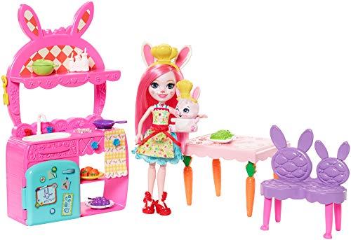 Enchantimals FRH47 - Bree Bunny und Twist Küche