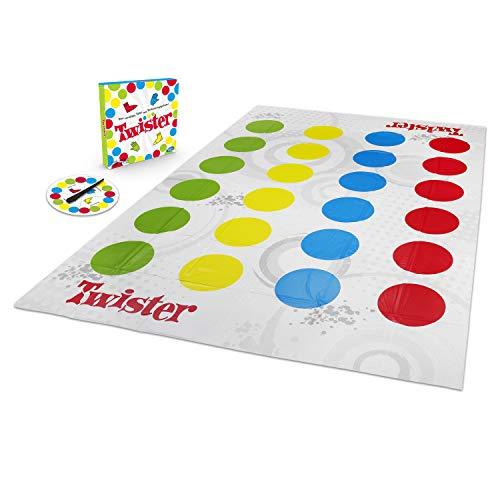 Hasbro Gaming Twister Spiel, Partyspiel für Familien und Kinder,...