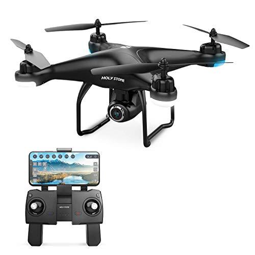 Holy Stone HS120D GPS Drohne mit 1080P Kamera HD Live Übertragung,Follow Me,RC Quadrocopter ferngesteuert mit...