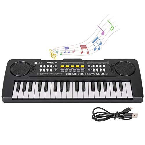 sanlinkee Kinder Klavier Keyboard, 37 Tasten Musik Klavier Tastatur...