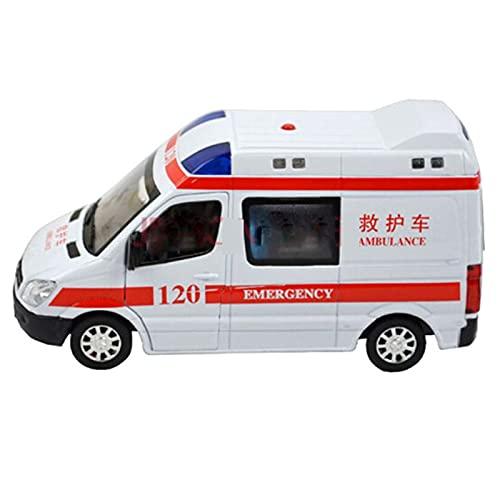 MGJX Zurückziehen Auto Spielzeug, Legierung Auto Modell Krankenwagen...