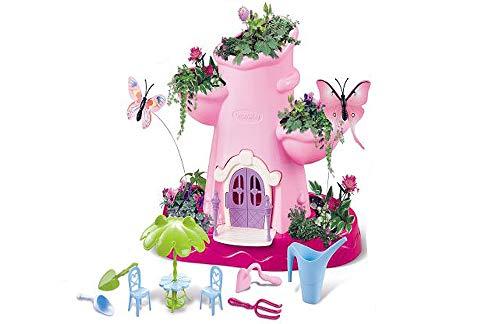 Brigamo Bastelset Magischer Garten zum bepflanzen, Fee Spielzeug für Mädchen