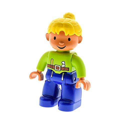 Bausteine gebraucht 1 x Lego Duplo Figur Frau Wendy Beine Blau...