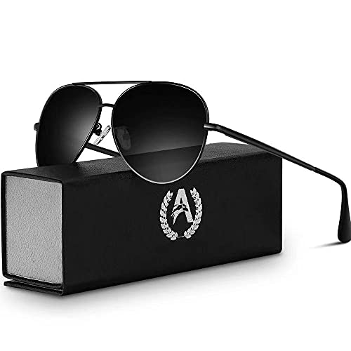 VVA Sonnenbrille Herren Pilotenbrille Polarisiert Pilotenbrille...