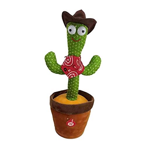 WUMOFIF Dancing Cactus Toy Plüschtier Cactus Tanzen Lustiges...