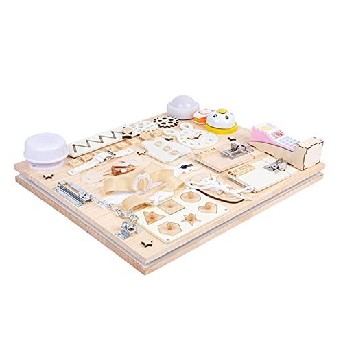 Augneveres Montessori-Spiele Spielzeug Für Kinder Interaktive...