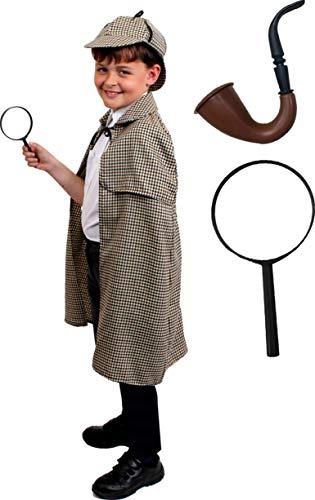 I LOVE FANCY DRESS LTD Sherlock Holmes Deluxe KOSTÜM Set MIT Hut -...