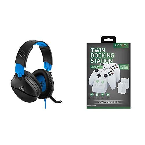 Turtle Beach Recon 70P Gaming Headset - PS4, PS5, Xbox One, Xbox Series S/X, Nintendo Switch und PC & Venom...