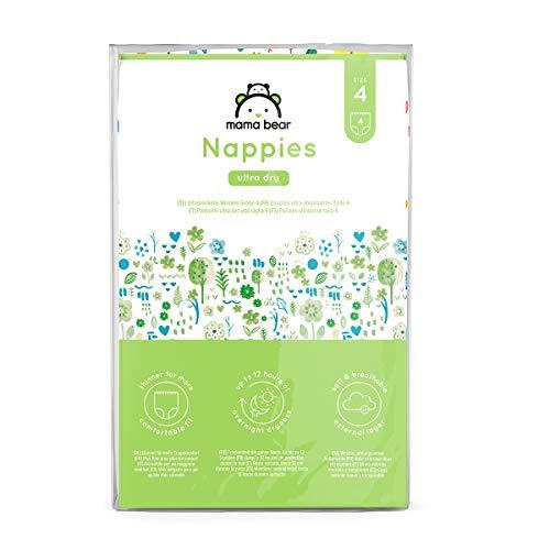 Amazon-Marke: Mama Bear - 4 Ultra-Dry Windeln - Größe...