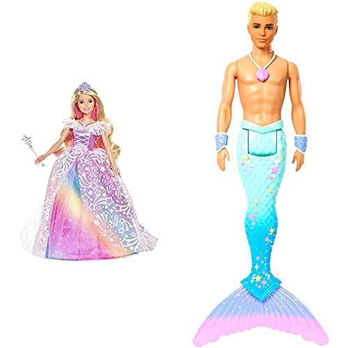 Barbie GFR45 - Dreamtopia Ballkleid Prinzessin Puppe mit blonden...