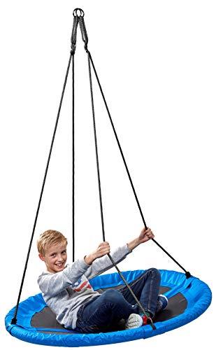 Nestschaukel outdoor 150kg 110 cm blau Nestschauckel Tellerschaukel...