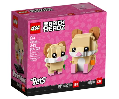 LEGO BrickHeadz 40482 Baby Hamster und Hamster Set