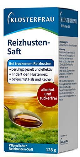 Klosterfrau Reizhusten-Saft/Natürlich lindernder & befeuchtender Hustensaft mit Isländisch Moos gegen...