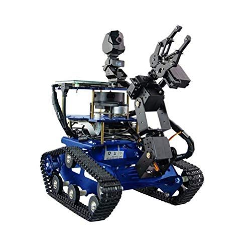 ZDSKSH Programmierbare Roboter Spielzeug, 4 DOF Mechanischer Arm, DIY...