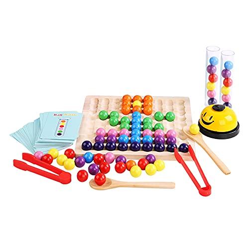 Holz Clip Perlen Regenbogen Passenden Spielzeug, Kinder...