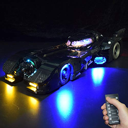 Seasy Beleuchtung Licht Set für Lego DC Super Heroes 1989 Batmobile,...