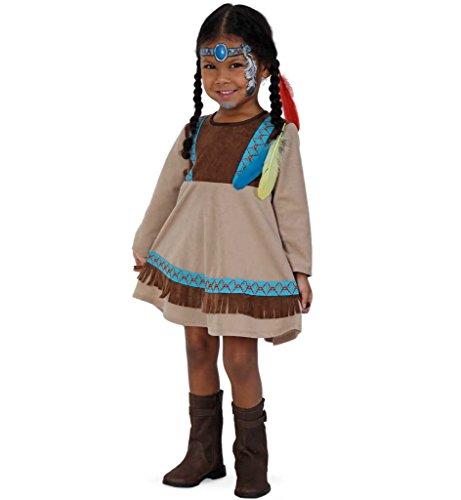 KarnevalsTeufel Kinder-Kostüm Indianer Kleine Feder Ureinwohner...