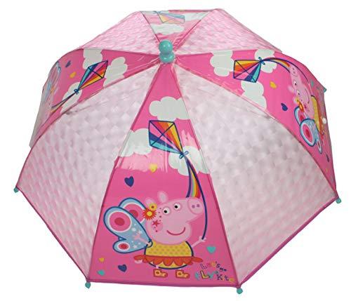 Peppa Pig Regenschirm Mädchen 50 cm Polyester rosa