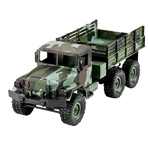 YYURUYI Army Truck Geländewagen 6-Rad-Antrieb Kinderspielzeugauto RC...
