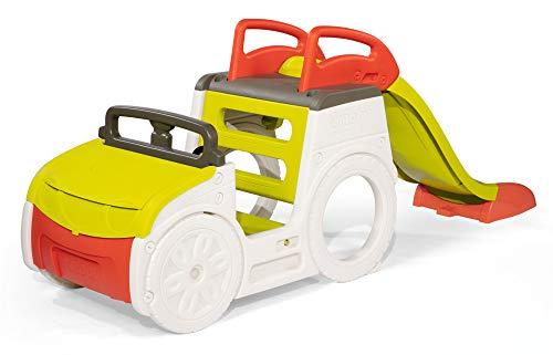 Smoby 7600840205 – Abenteuer-Spielauto – großes Spielcenter mit...