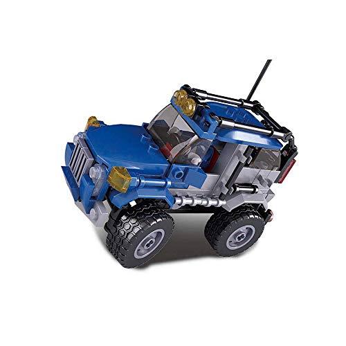 SLUBAN BRICKS, Car Club Offroad blau 145 Teile Bausatz (AJ 1)