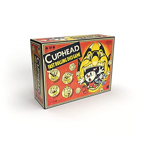 USA-OPOLY Cuphead Roll and Run   Würfelspiel   ab 8 Jahren   1-4...