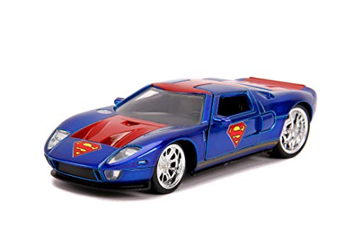 Jada Toys 253252008 Superman, 2005 Ford GT, Spielzeugauto aus...