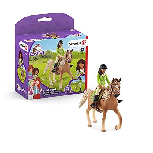 SCHLEICH 42542 Spielfigur - Horse Club Sarah & Mystery...