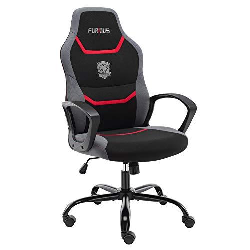 Gaming Stuhl Bürostuhl Ergonomischer Drehstuhl Schreibtischstuhl mit...