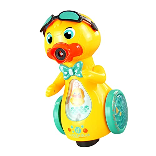 freneci Automatisches Duck Bubble Maker Gebläse mit Musik & Licht...