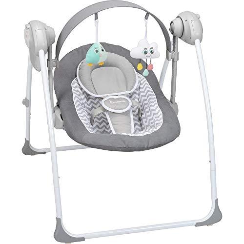 Badabulle Komfort Babyschaukel, elektrische Babywippe und Schaukel mit... *