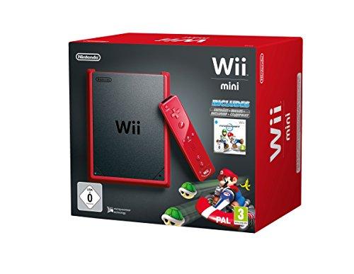 Wii - Konsole mini Mario Kart Bundle