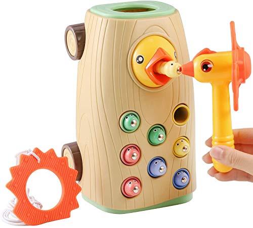 BBLIKE Montessori Spielzeug Magnetisches Kinderspiel, braucht Nicht...