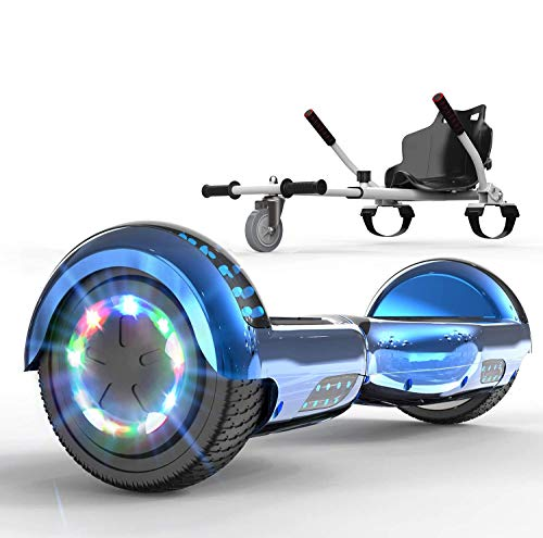SOUTHERN WOLF 6,5 Zoll Hoverboard + Hoverkart, mit Bluetooth und 700W...