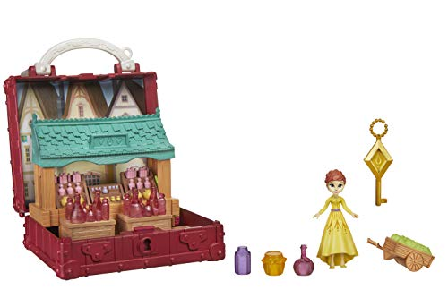 Disney Die Eiskönigin 2 Pop-Up Abenteuer Dorfset Spielset mit Griff,...