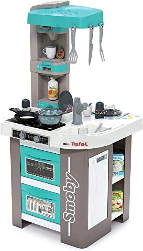 Smoby Tefal Studio Bubble Küche Spielküche für Kinder mit vielen...