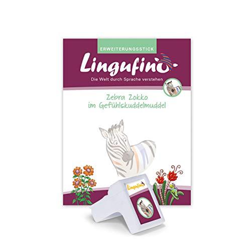 DIALOG TOYS Lingufino Erweiterungs-Set Zebra Zokko im...