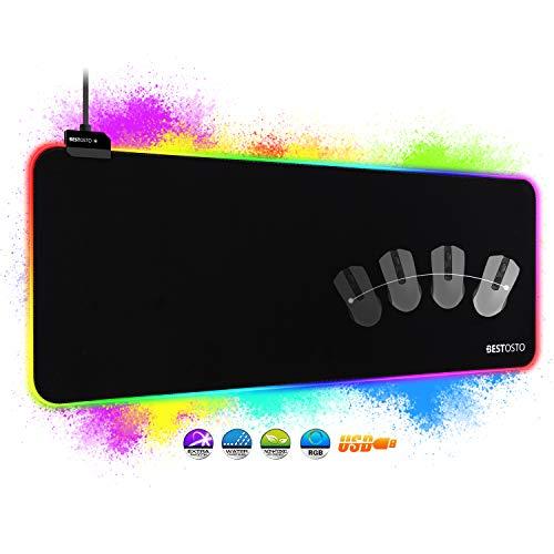 RGB Mauspad XXL Gaming Mauspad - RGB Gaming Mousepad...