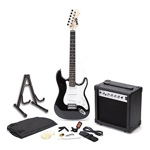 RockJam voller Größe E-Gitarre Superkit mit Gitarrenverstärker...